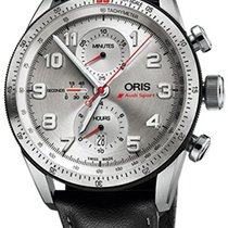 Oris Audi Sport Titanium Silver United States of America, New York, Brooklyn