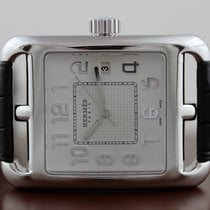 Hermès White gold 36.5mm Automatic W026191WW00 new