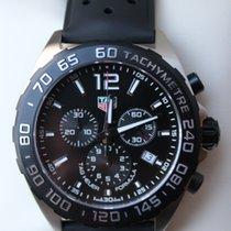TAG Heuer Formula 1 Quartz Steel 43mm Black No numerals