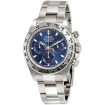 Rolex Cosmograph Daytona Blue Dial 18K WhiteGold  116509 BLI