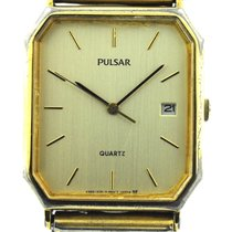 Pulsar Pre-owned Pulsar Vintage Men's Watch