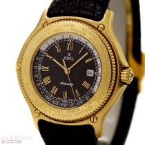 Ebel Voyager Automatic Ref-8124913 18k Yellow Gold Bj-1998