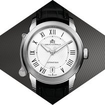 Lebeau-Courally White gold 38mm Automatic LC09-12-C6-D02 new