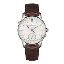 Moritz Grossmann ATUM Date White gold 41mm Silver (solid)