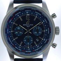 Breitling Mans Automatic Wristwatch Chronograph Transocean...
