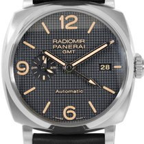 Panerai Radiomir 1940 3 Days GMT Acciaio Automatic Men Watch...
