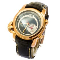 Michel Jordi Equinox Gmt -men's watch 2016 -new