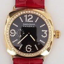 Panerai Radiomir 18K Gold Diamond Bezel & Markers PAM139
