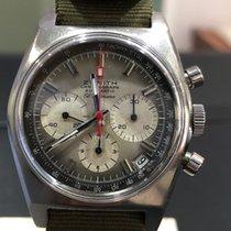 Zenith El Primero Chronograph pre-owned 37mm Steel