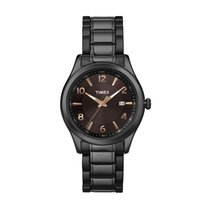 Timex T2N939 Black Ion Plated Stainless Steel Quartz Unisex Watch