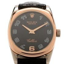 Rolex Cellini Danaos pre-owned 24.2mm White gold