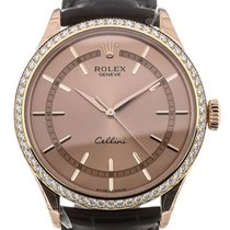 Rolex 50705RBR Rose gold 2019 Cellini Time 39mm new