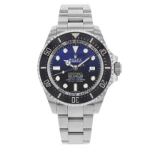 Rolex Sea-Dweller Deepsea pre-owned 44mm Black Date Steel