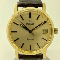 Omega Genève Yellow gold 35mm Gold No numerals United States of America, Florida, Miami