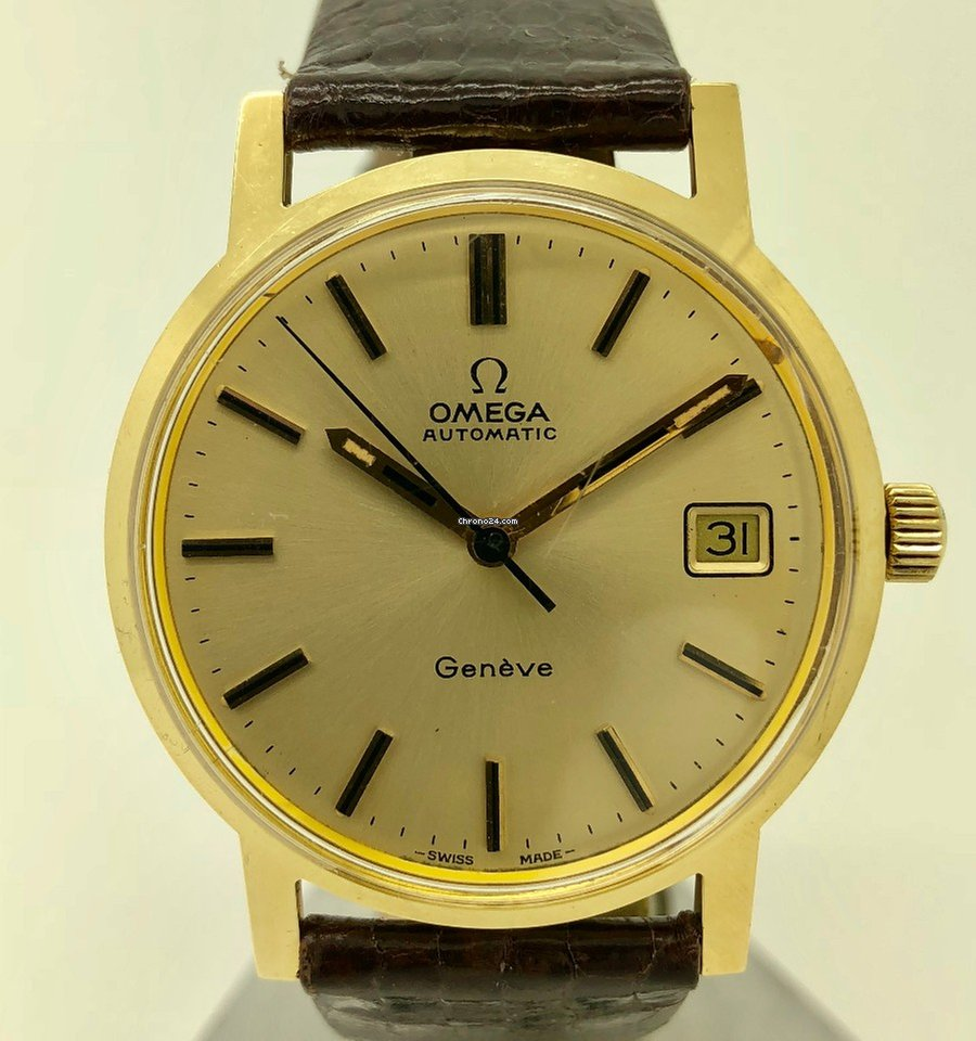 a79ba068f Omega Genève Yellow gold - all prices for Omega Genève Yellow gold watches  on Chrono24