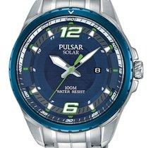 Pulsar Steel 44mm Quartz PX3125X1 new