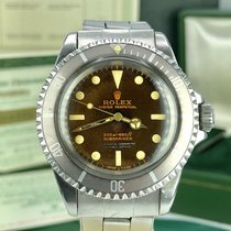 Rolex 5512 Submariner Tropical Gilt Dial Unpolished 1964 papers