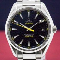 Omega 23110422103004 Aqua Terra James Bond Co-Axial 150M Blue...
