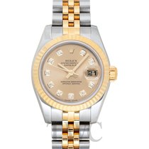 Rolex Lady-Datejust Champagnerfarben