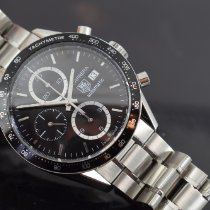 TAG Heuer Chronograph 41mm Automatic 2008 pre-owned Carrera Calibre 16 Black