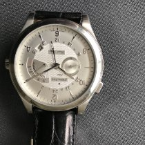 Zenith Elite Dual Time pre-owned 44mm Date GMT Crocodile skin