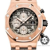 Audemars Piguet Royal Oak Offshore Chronograph Rose gold 42mm Gold Arabic numerals United States of America, New York, NEW YORK