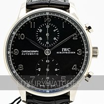 IWC IW371413 White gold 2006 Portuguese Chronograph 40mm pre-owned