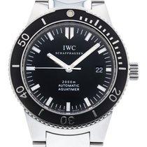IWC Aquatimer Automatic 2000 Otel 42mm Negru
