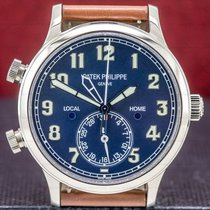 Patek Philippe Travel Time White gold 42mm Arabic numerals United States of America, Massachusetts, Boston