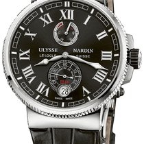 Ulysse Nardin Marine Chronometer Manufacture Сталь 45mm Россия, Moscow
