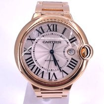 Cartier Ballon Bleu 42mm pre-owned 42mm Silver Rose gold