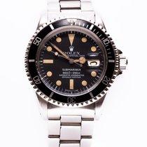 Rolex Submariner Date pre-owned 40mm Black Date Steel