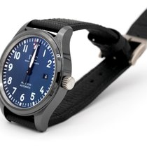 IWC Pilot Mark Ceramic 41mm Blue Arabic numerals United States of America, California, Orange