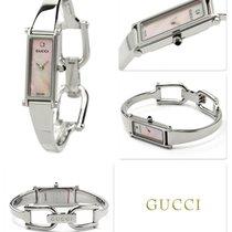 Gucci Сталь 30mm Кварцевые YA015554 новые