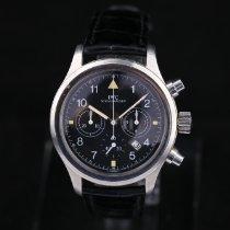 IWC Fliegeruhr Chronograph Stahl 36mm Schwarz Arabisch Deutschland, Rosenheim