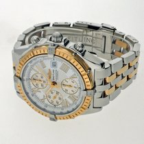 Breitling Crosswind Racing Gold/Steel 43mm White Roman numerals