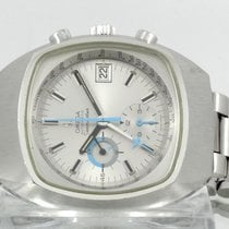 Omega Seamaster pre-owned 42mm Silver Chronograph Date Steel