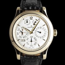 Jaeger-LeCoultre Master Eight Days Perpetual Rotgold 42mm Silber