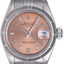 ロレックス (Rolex) Ladies Date Stainless Steel Watch 79190