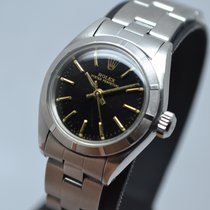 Rolex Oyster Perpetual Vintage 25mm Lady Steel Black