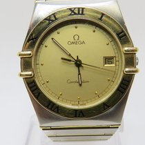 Omega Constellation Quartz Acero y oro 32mm Oro Romanos