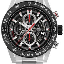 TAG Heuer Carrera Caliber Heuer 01 Skeleton Mens Watch...