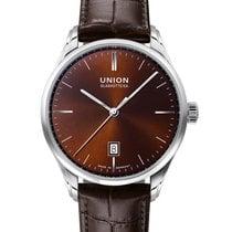 Union Glashütte Viro Date Steel 41mm Brown