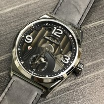 Milleret Steel Manual winding Black 43mm new