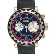 Dewitt 18K Rose Gold Academia Chronograph Sequential Automatic...
