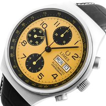 Limes YELLOW-RACER AUTOMATIK CHRONOGRAPH VALJOUX 7750 DAY&DATE...