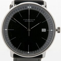 Junghans Max Bill 38 Date Leather