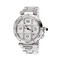 Cartier - Pasha Grill 38 mm Automatic steel - 2379 - Unisex -...