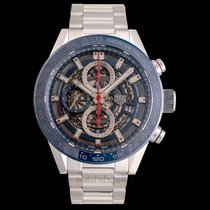 TAG Heuer Carrera Calibre HEUER 01 Steel 43mm Transparent United States of America, California, San Mateo