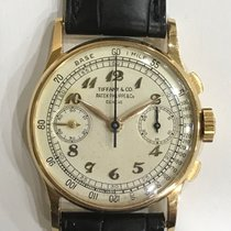 百達翡麗 Patek Philippe Vintage 130J Tiffany&Co dial, Yellow Gold